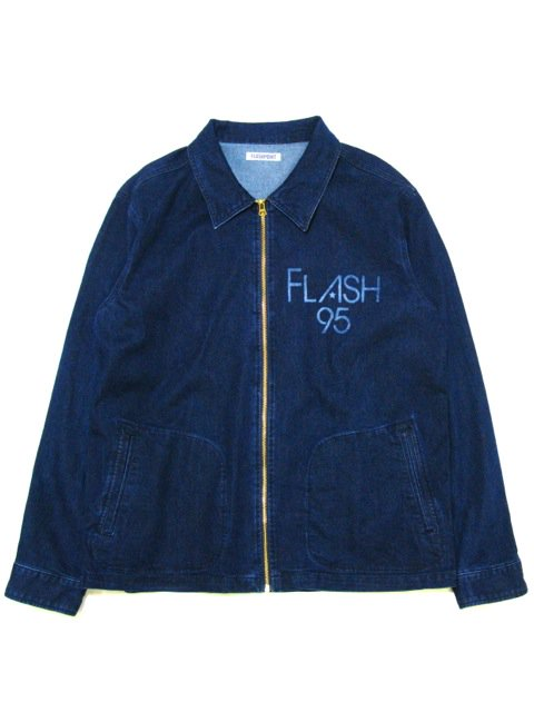 [FLASH POINT] DENIM DRIZZLER JACKET(Dk.IN)