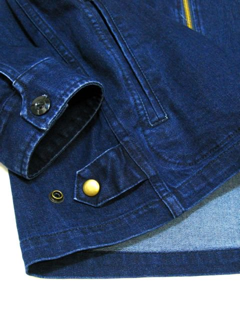 [FLASH POINT] DENIM DRIZZLER JACKET(Dk.IN)3