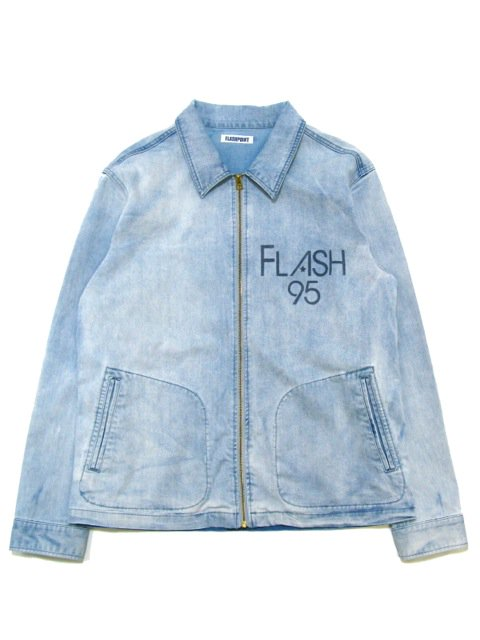 [FLASH POINT] DENIM DRIZZLER JACKET(Lt.IN)