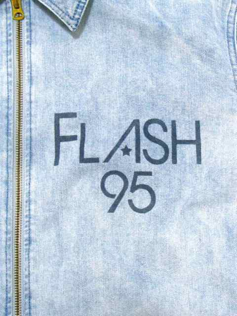 [FLASH POINT] DENIM DRIZZLER JACKET(Lt.IN)1