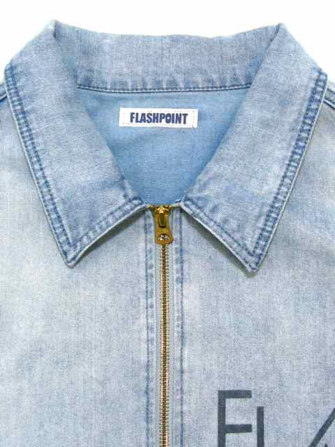 [FLASH POINT] DENIM DRIZZLER JACKET(Lt.IN)2