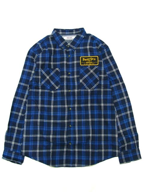 [PROJECT SR'ES] NEW SIGN CHECK SHIRT(NV)