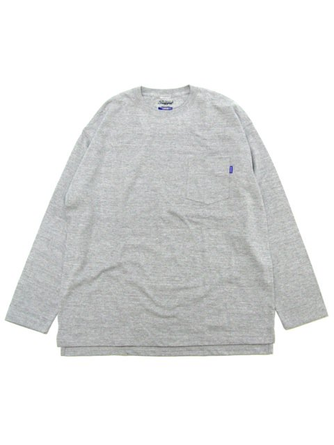[RUGGED] pocket L/S TEE(GR)