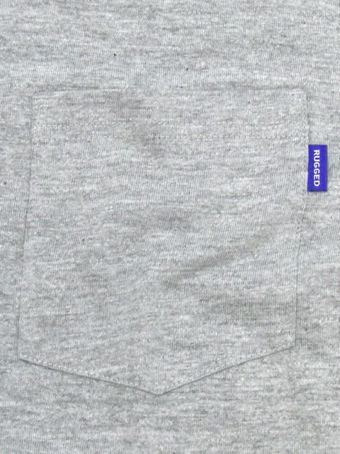 [RUGGED] pocket L/S TEE(GR)1