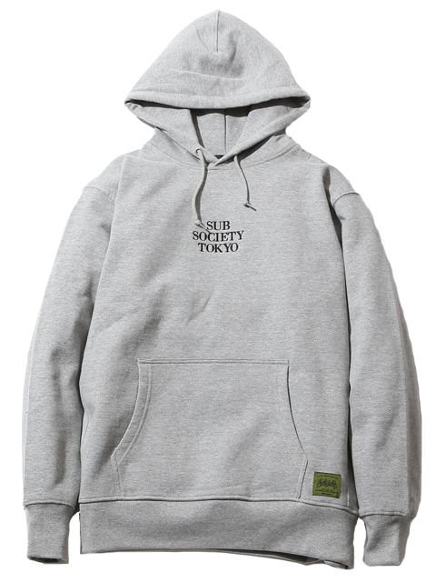 [SUBCIETY] HEAVY PARKA-solid-(GR)