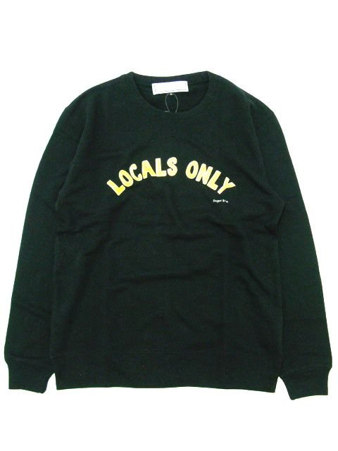 [PROJECT SR'ES] LOCALS ONLY SWEAT(BK)1