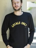 [PROJECT SR'ES] LOCALS ONLY SWEAT(BK)