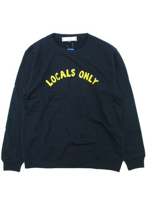 [PROJECT SR'ES] LOCALS ONLY SWEAT(NV)