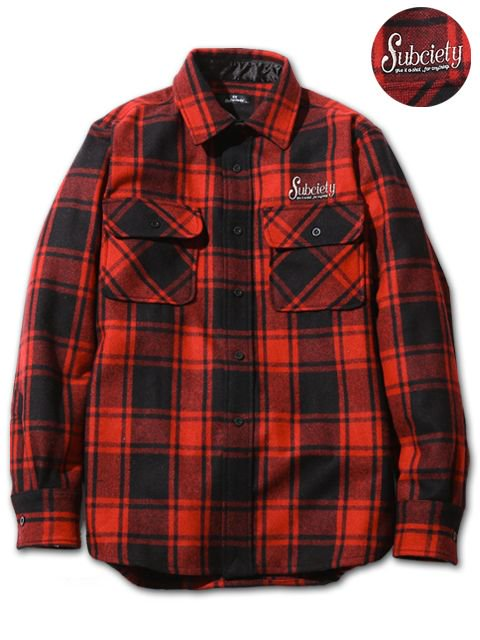 [SUBCIETY] CPO SHIRT-rockabilly-(RE)
