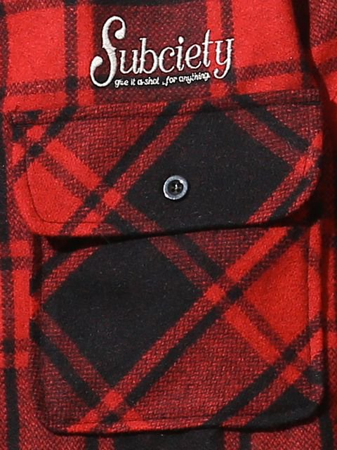 [SUBCIETY] CPO SHIRT-rockabilly-(RE)1