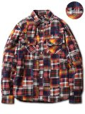 [SUBCIETY] PATCHWORK SHIRT