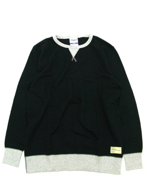 [RUGGED] crewneck sweat(BK)