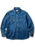 [CLUCT] ENGINNER DENIM SHIRT
