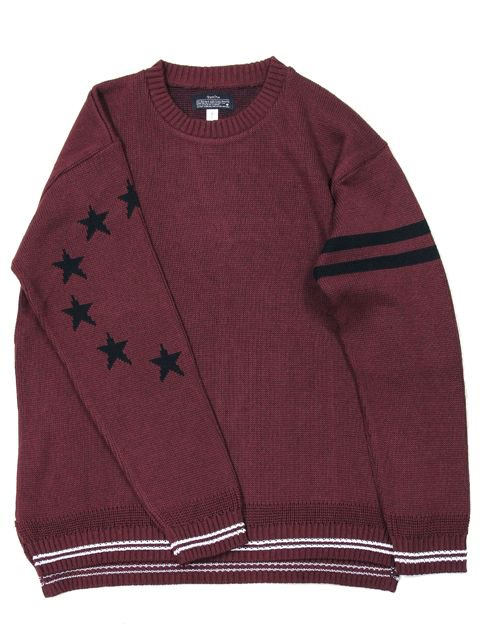 [quolt] STAR KNIT(BU)1