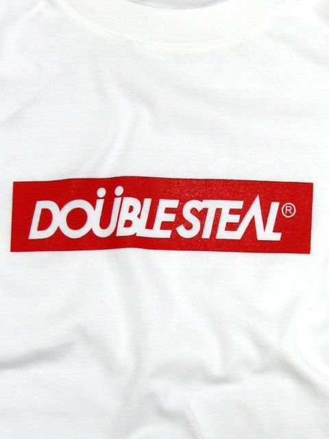 [DOUBLE STEAL] BOX LOGO L/S TEE1