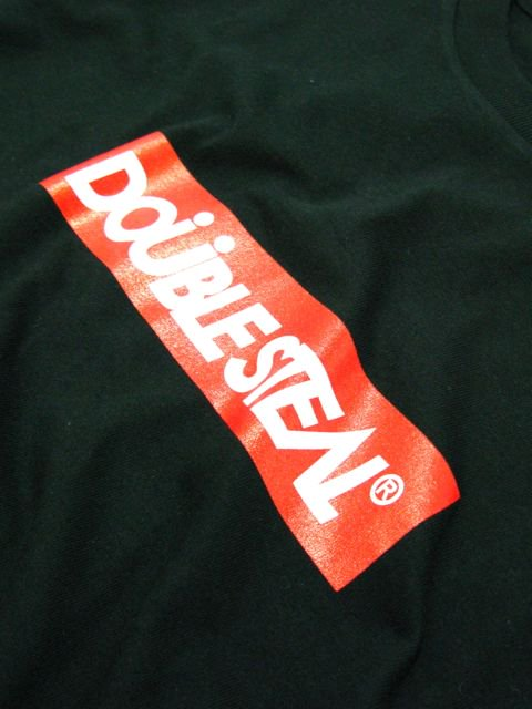 [DOUBLE STEAL] BOX LOGO L/S TEE2