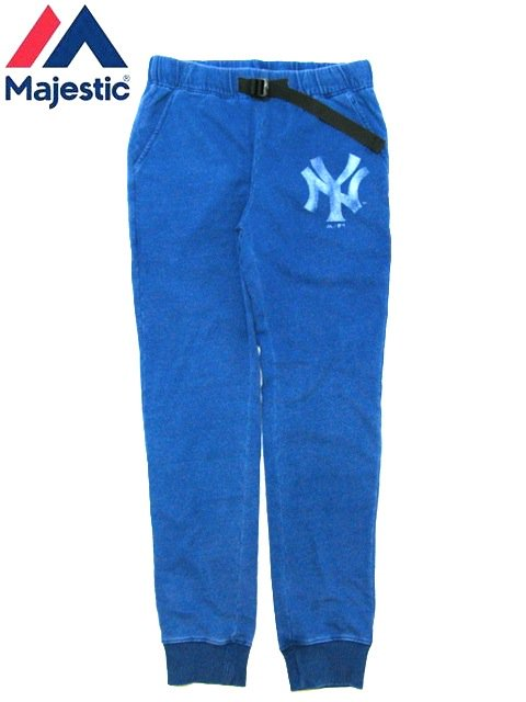 [MAJESTIC] INDIGO VINTAGE SWEAT PANTS