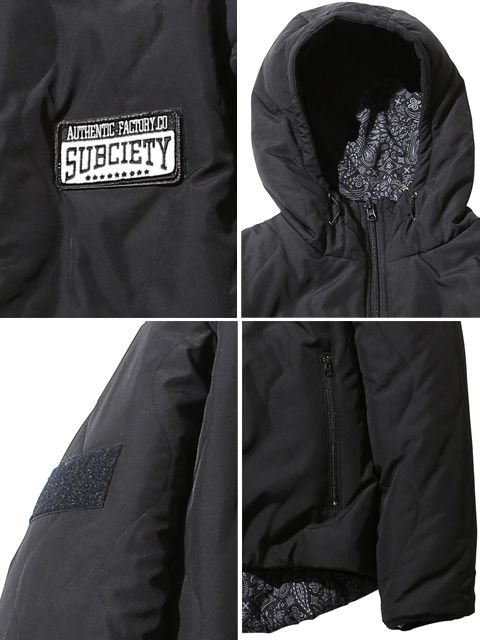 [SUBCIETY] HOODED JACKET2
