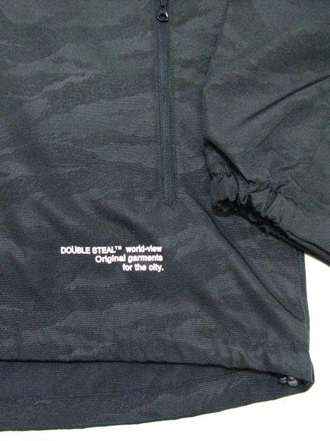 [DOUBLE STEAL BLACK] BLACK CAMO Shell Parka Jacket2