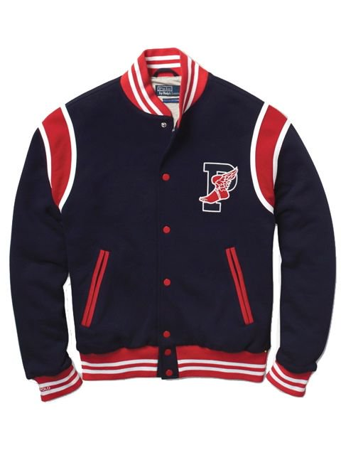 [POLO Ralph Lauren] THE STADIUM 1992 P-WING TRACK JACKET