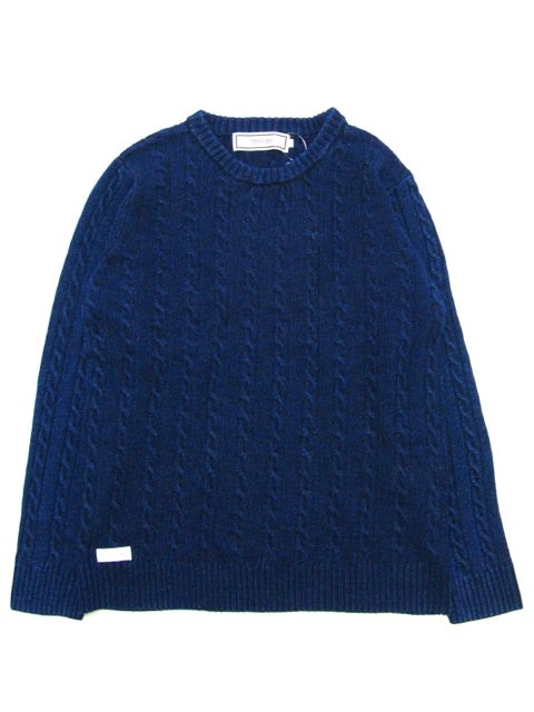 [PROJECT SR'ES] DYED KNIT SWEATER