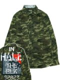 [ZEPHYREN] BANDANA CHECK SHIRT L/S -Inhale the black-
