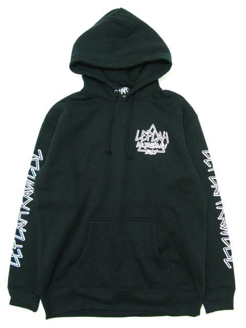 [LEFLAH] AS YOU LOGO PARKA(BK)