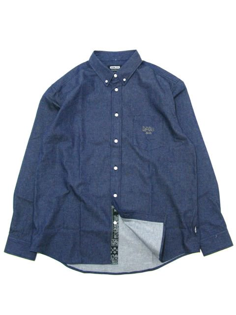 [DOUBLE STEAL] PARTS Fabric B.D SHIRT