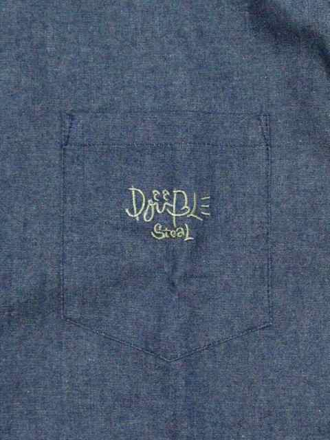 [DOUBLE STEAL] PARTS Fabric B.D SHIRT1