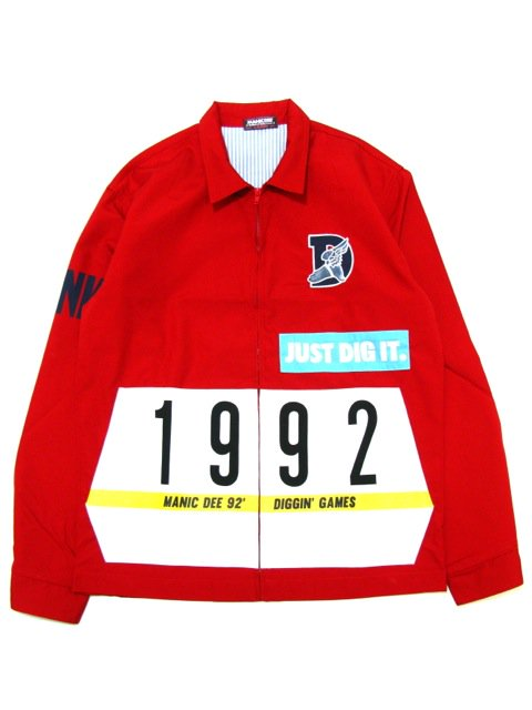 [MANIC DEE] JUST DIG IT. FUNK 1992 DRIZZLER JACKET(RE)