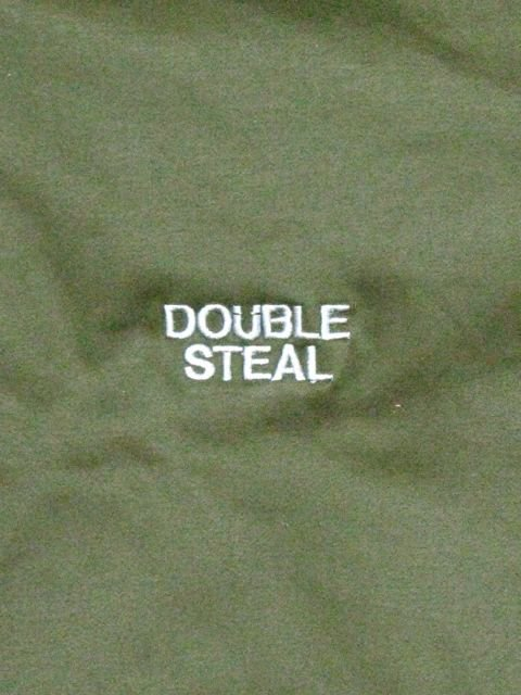 [DOUBLE STEAL BLACK] MILITARY BLOUSON(KH)1