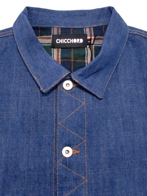 [CHICCHORD] DENIM JACKET1