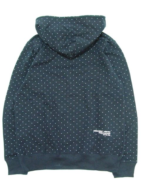 [DOUBLE STEAL] DOT PRINT PARKA1