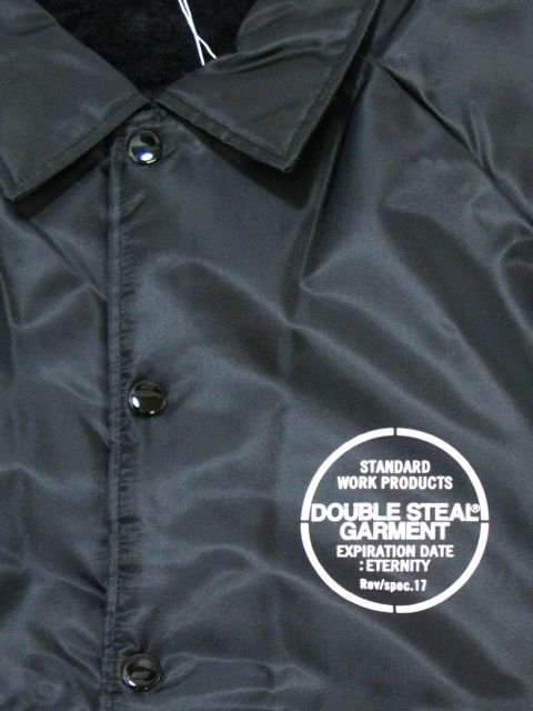 [DOUBLE STEAL] BORE COACH JACKET1
