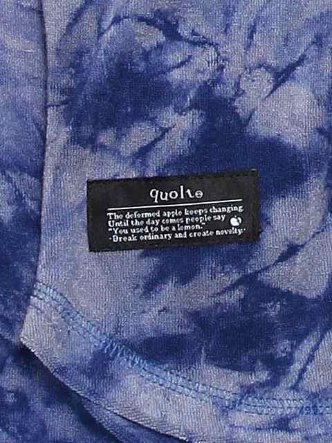 [quolt] PILE-DYED CUTSEW(NV)3
