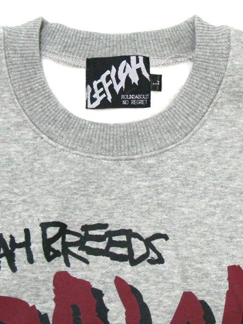 [LEFLAH] BREEDS SWEAT(GR)2