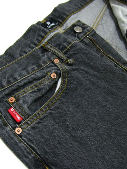 [SUBCIETY] TAPERED DENIM H.W.-GLORIOUS-1
