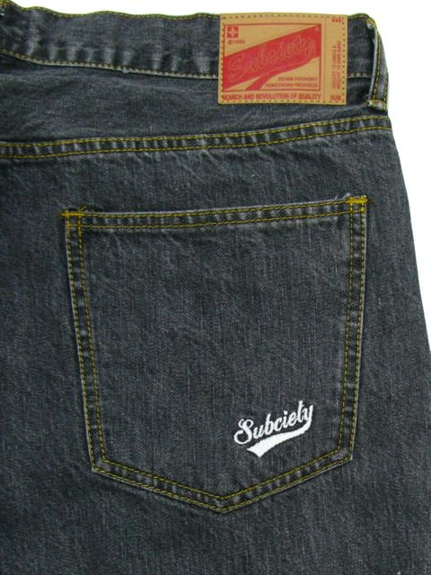 [SUBCIETY] TAPERED DENIM H.W.-GLORIOUS-3