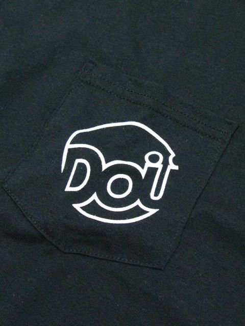 [DOUBLE STEAL] POCKET LINE DOU L/S TEE(BK)1