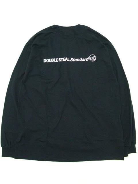 [DOUBLE STEAL] POCKET LINE DOU L/S TEE(BK)2