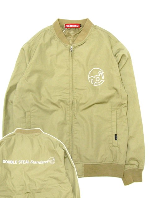 [DOUBLE STEAL] LINE DOU STADIUM JACKET