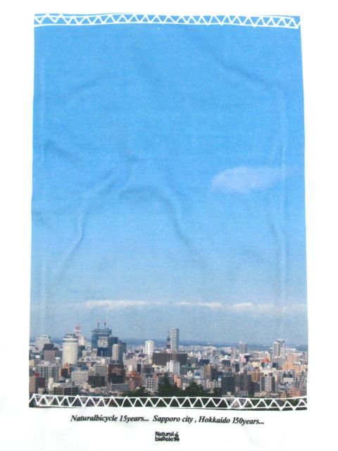 [NATURAL BICYCLE] Sapporo Photo Tee1