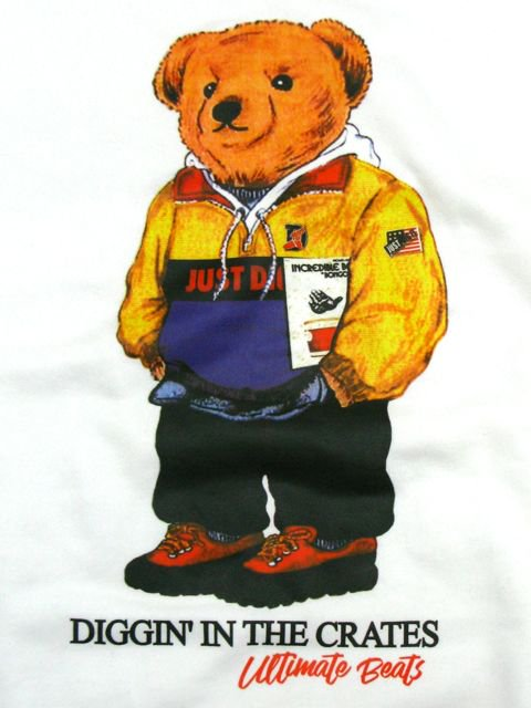 [MANIC DEE] BONGO ROCK BEAR CREW SWEAT1