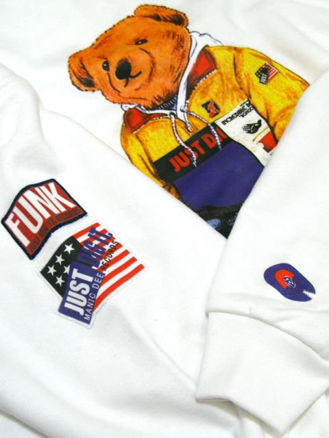 [MANIC DEE] BONGO ROCK BEAR CREW SWEAT2