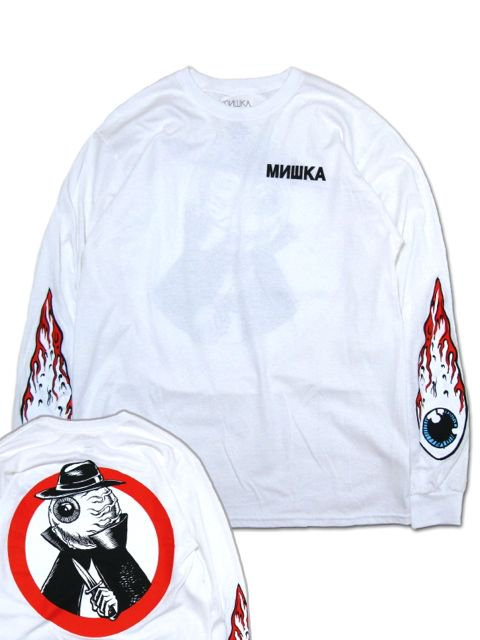 [MISHKA] NEIGHBORHOOD KEEP WATCH LONG SLEEVE TEE