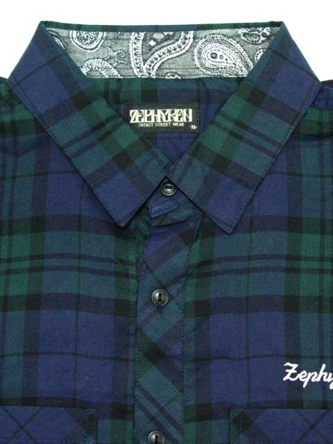 [ZEPHYREN] CHECK SHIRT L/S -Resolve-2
