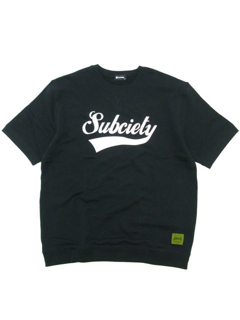 [SUBCIETY] SWEAT S/S-GLORIOUS-(BK)