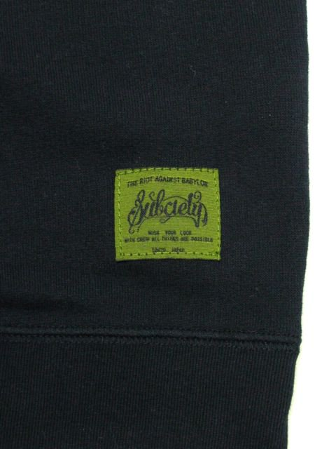 [SUBCIETY] SWEAT S/S-GLORIOUS-(BK)3