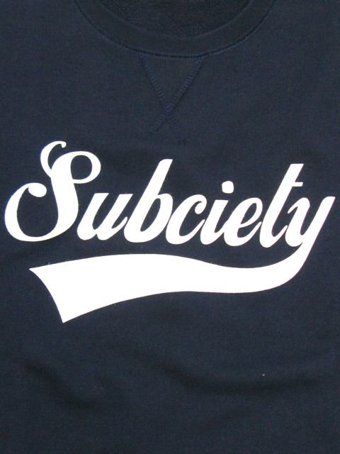 [SUBCIETY] SWEAT S/S-GLORIOUS-(NV)1