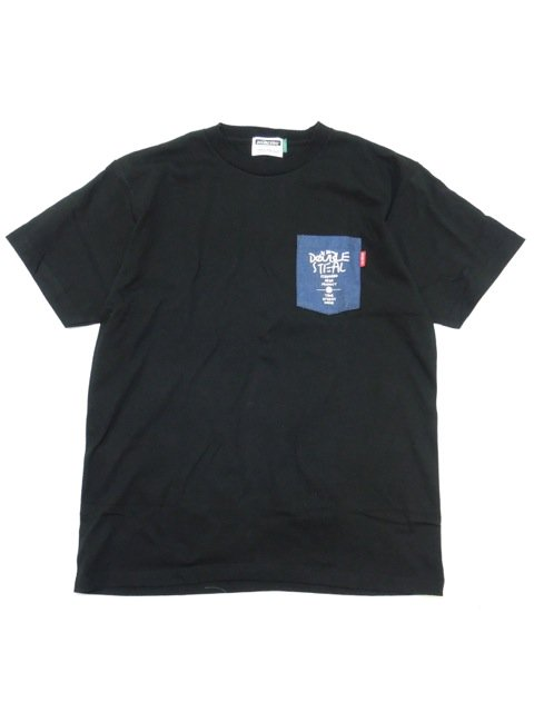 [DOUBLE STEAL] RAKUGAKI POCKET TEE